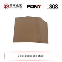 Paper slip sheets for transporting & slipping