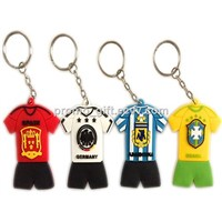 High quality soft rubberized PVC keychain with best price