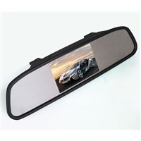 4.3 inches Mirror Monitor Display Clip with Car Mirror