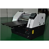 A3 small size eco-slovent flatbed printer for high-precision PVC card printing