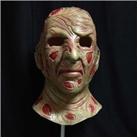Adult latex deluxe horror halloween full head mask costumes cosplay