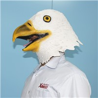 Adult deluxe bird animal with white halloween mask cosplay hot