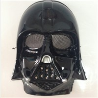 Adult star wars  Darth Vader costumes cosplay mask for hallwoeen