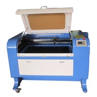 high quality 80W co2 laser cutter 600*900mm for wood crafts/3D models