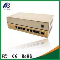 Newest 8 Port Poe Switch 7+1 Ports Fast Ethernet Switch Network IP Cameras Powered POE Adapter