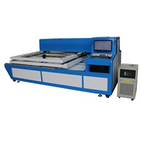 150w+150w  die board, plywood, wood,mdf laser cutting machine