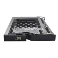 2.5in Single Bay Unestech SATA internal Aluminum Hdd Mobile rack