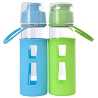 500ml big high-borosilicate heat-resistant creative cheap glass bottle flask cup