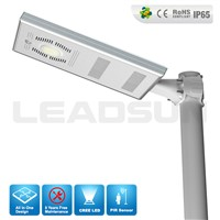 25w straight type Leadsun New led IP65 solar street light