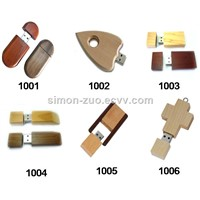 Eco Friendly Factory Price Wooden, Bamboo USB 2.0 3.0 Flash Disk, Drive