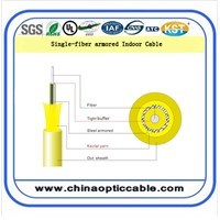 Single-Fiber Armored Indoor Cable (GJFJV)