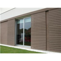 Outdoor shedding panel High quality low price wpc wall cladding anti-uv