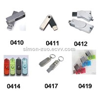 Factory Price Rotary Swivel USB 2.0 3.0 Flash Drive, USB Stick, USB Disk