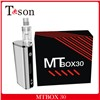 2015 new product MTbox 30w display screen box mod e cig starter kit