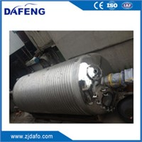 45Ton sealed reactor pressure vessel reaction tank pressure tank