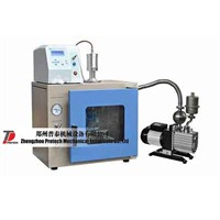Ultrasonic processor (1200W, 20KHz) with vacuum chamber and pump PT-1200C-12NV