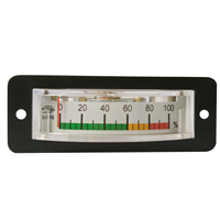 2015 new model high quality BP-15 DC10V 100% three color scale voltage load meter