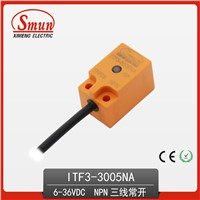 Inductive Proximity Switch 6-36VDC Three-Wires NPN Sensor with 5mm Detection Distance