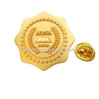 non-decorated high quality gold plating pin