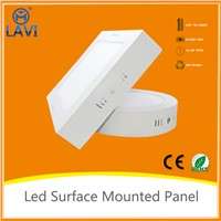 2015 new CE RoHS 6W 12W 18W 24W 40W 54WAC85-265V Round/Square Surface Mounted Led Panel Light
