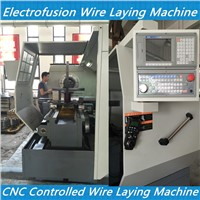electrofusion fittings wire laying CNC machines- tapping tee electrofusion fitting wire