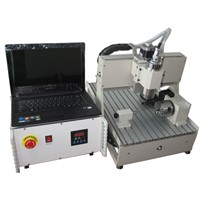 HT-3040 800w mini cnc router machine for wood, acrylic, abs board
