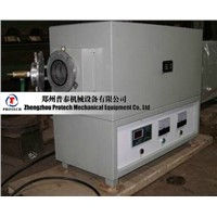 Protech large diameter lab vacuum tube furnace