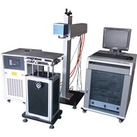 semiconductor side-pumped laser marking machine 50W/75W/100W