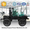 diesel generator with mobile trailer for 30kw power supply