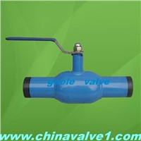 BW Full Welded Ball Valve