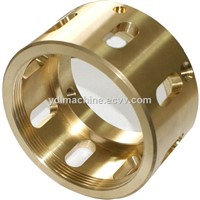 China cnc machined brass parts from BOSCH certificated supplier