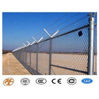 High Quality Galvanized Chain Link Fence On Hot Sale