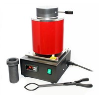 Protech economic mini lab gold melting furnace furnace for 2kg