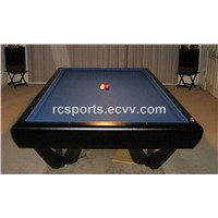 10ft solid wood carom table