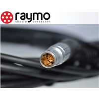 lemo 8 pin audio video cables and connectors compatible FGG plug to  plug for video camera
