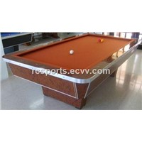 9ft solid wood billiard carom table