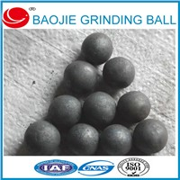Factory Price 25mm Forged Grinding Media Steel Balls For Ball Mill In Ore Mines