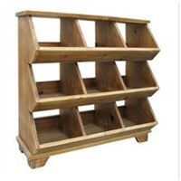 Handmade Wooden Wine Storage Shelf / Rack