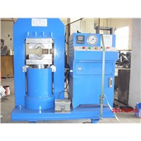Wire rope pressing machine