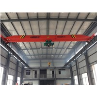 Steel Structure Worksop Traveling Single Beam Overhead Crane with Hoist 5t,10t,15t,20t