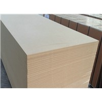 18mm MDF board/plain MDF/melamine faced MDF