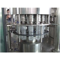 Automatic Mineral Water Bottling Machine , PLC control Water Production Line