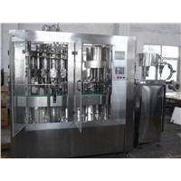 Cooking Oil or Edible Oil Filling Machine / Packing Equipment For Bottle 250ml - 2L