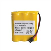 Standard Battery Ni-CD AA 900mAh 3.6V Battery Pack
