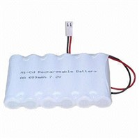 Rechargeable Ni-CD AA 1200mAh 7.2V Battery Pack for power tool