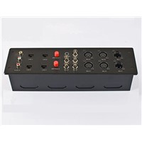 New design universal TV/Telephone/computer multi socket wall socket