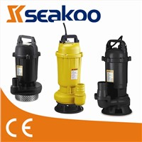 WQD SEWAGE SUBMERSIBLE  WATER  PUMP