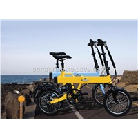 16inch small wheel foldable electric  bike