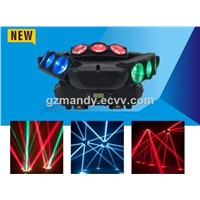 LED 3-heads 9*12W RGBW Moving Head Beam Spider Light(MD-B051)