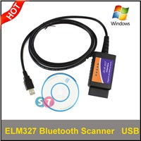 PC Based USB Connector Bluetooth OBDII Diagnostic Scanner